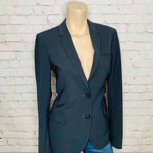 Women's THEORY Matelda Tailor Blazer Gray Size 6